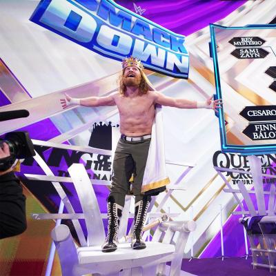 WWE SmackDown 08/10/2021 report (1/3) - Sheikh of the ring