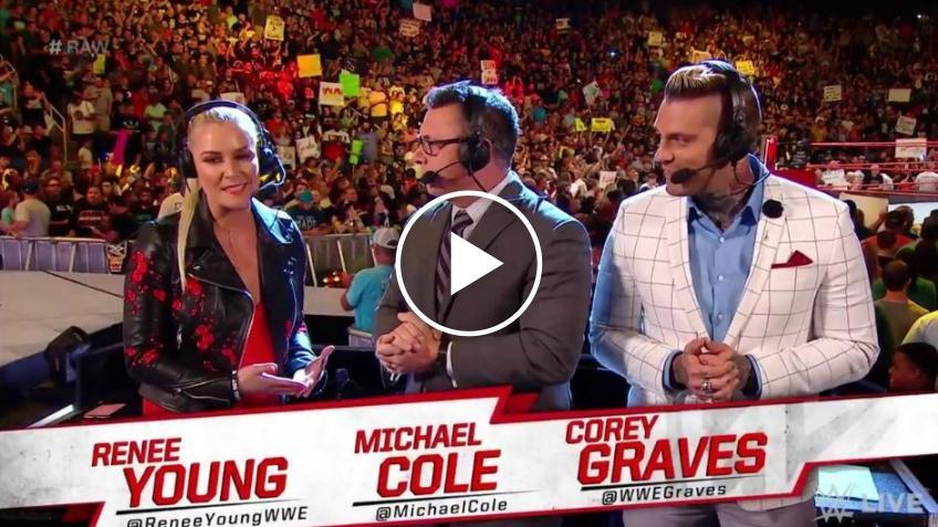"""Renee Young, che debutto al commento: """"Ecco cosa mi ha detto Vince McMahon"""""""