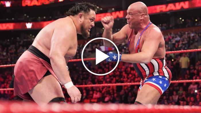 Cosa c'è dietro la testata di Samoa Joe a Kurt Angle
