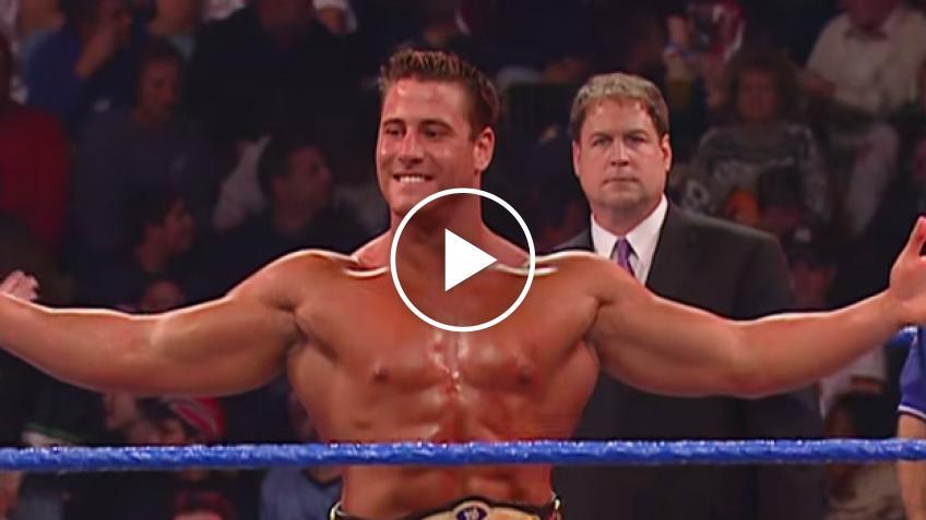 Ve lo ricordate? E' il campione piu' giovane della storia della WWE