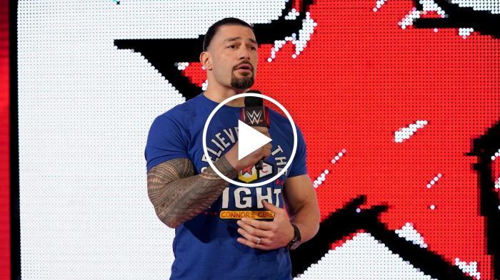 Roman Reigns a Raw commuove New York e tutto il WWE Universe *SPOILER*