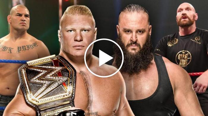 Cain Velaquez e Tyson Fury: il grande annuncio della WWE per Crown Jewel