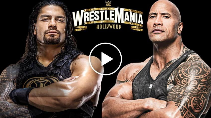 "WWE, The Rock: "" Ora un match a Wrestlemania con Roman Reigns ha senso"""
