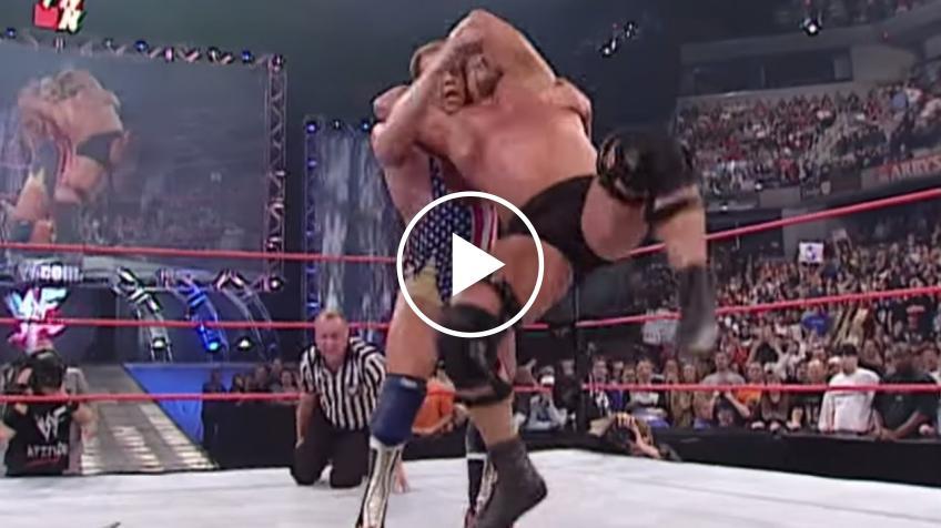 WWE Uncut Gems #17 - Kurt Angle vs Steve Austin, WWE Title Match: Raw, 8 ottobre 2001