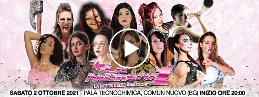 Spaghetti Wrestling: ICW - La Notte Delle Amazzoni: chi sarà la numero 1?